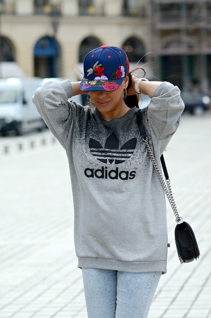 DSC_2842 Tamara Chloé, Adidas, Chanel Boy Bag, Paris
