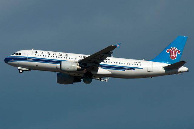 B-6782 China Southern Airlines Airbus A320-200 Tokyo Narita