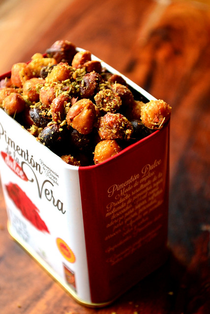 Fennel and Chilli Roasted Chickpeas