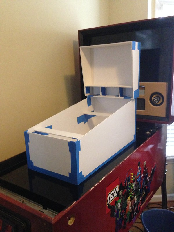 Mini Cab 22 15 7 Cabinet Builds Virtual Pinball Universe