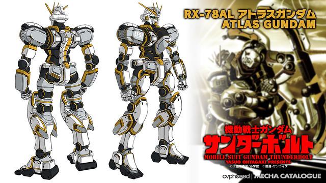 Mobile Suit Gundam Thunderbolt - RX-78AL Atlas Gundam