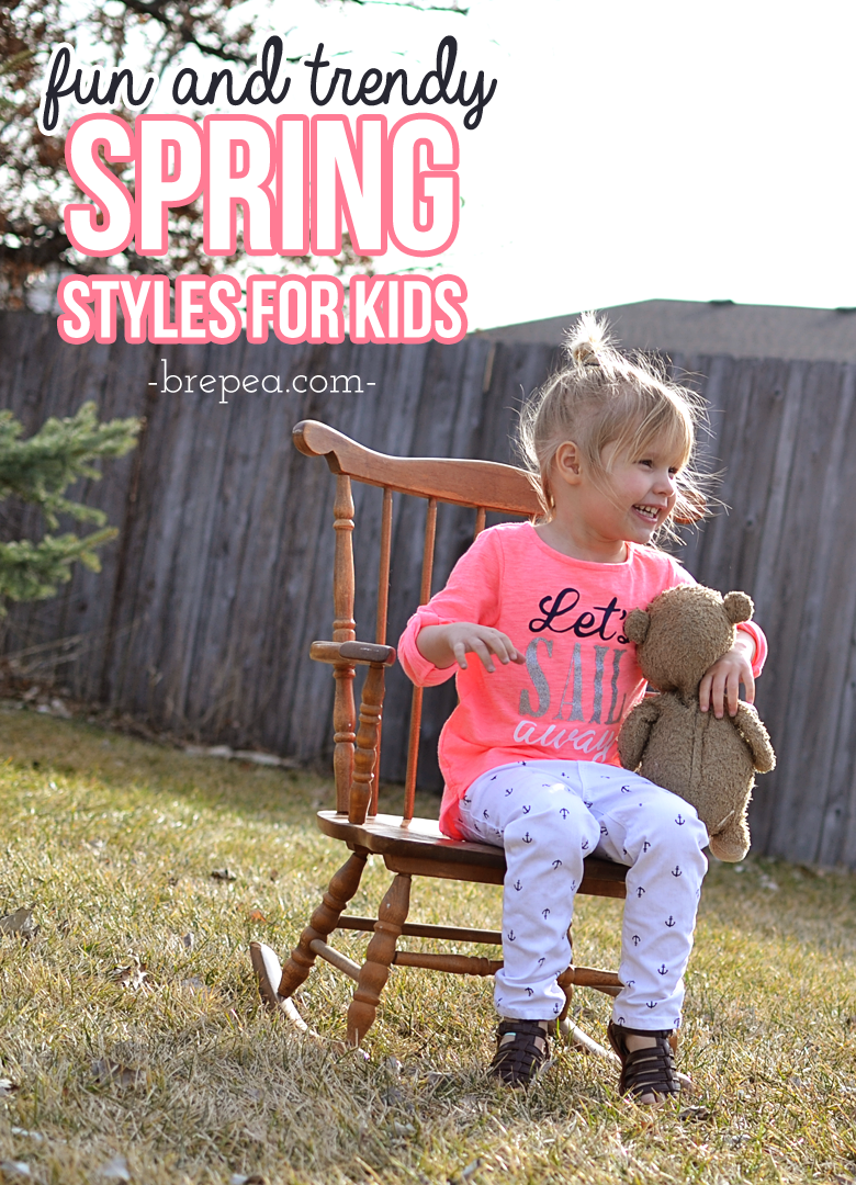 Fun & trendy spring styles for kids