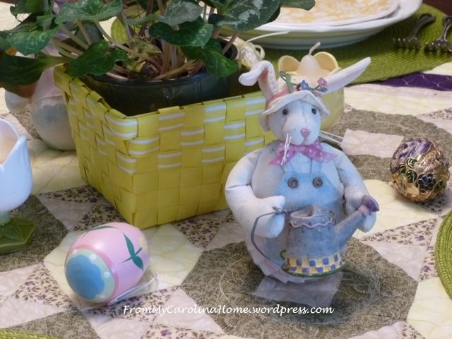 Easter tablescape - 3
