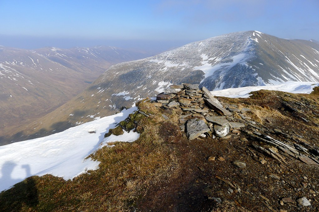The summit of Sgurr Choinnich