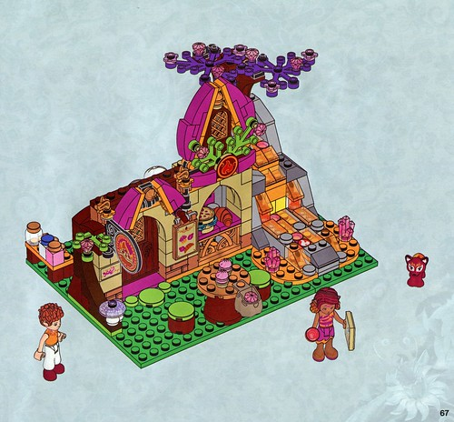 LEGO Elves 41074 Azari and the Magical Bakery ins03