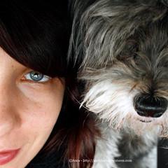 Noi 2 sempre insieme da 11 anni! auguri Michi cara cagnolina