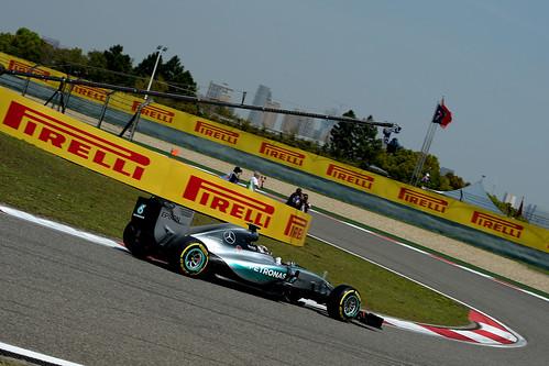 Hamilton GP China F1