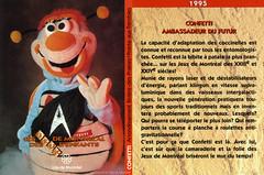 Carte à collectionner des Jeux de Montréal. 1995, VM114-Z-4_0008-fusion
