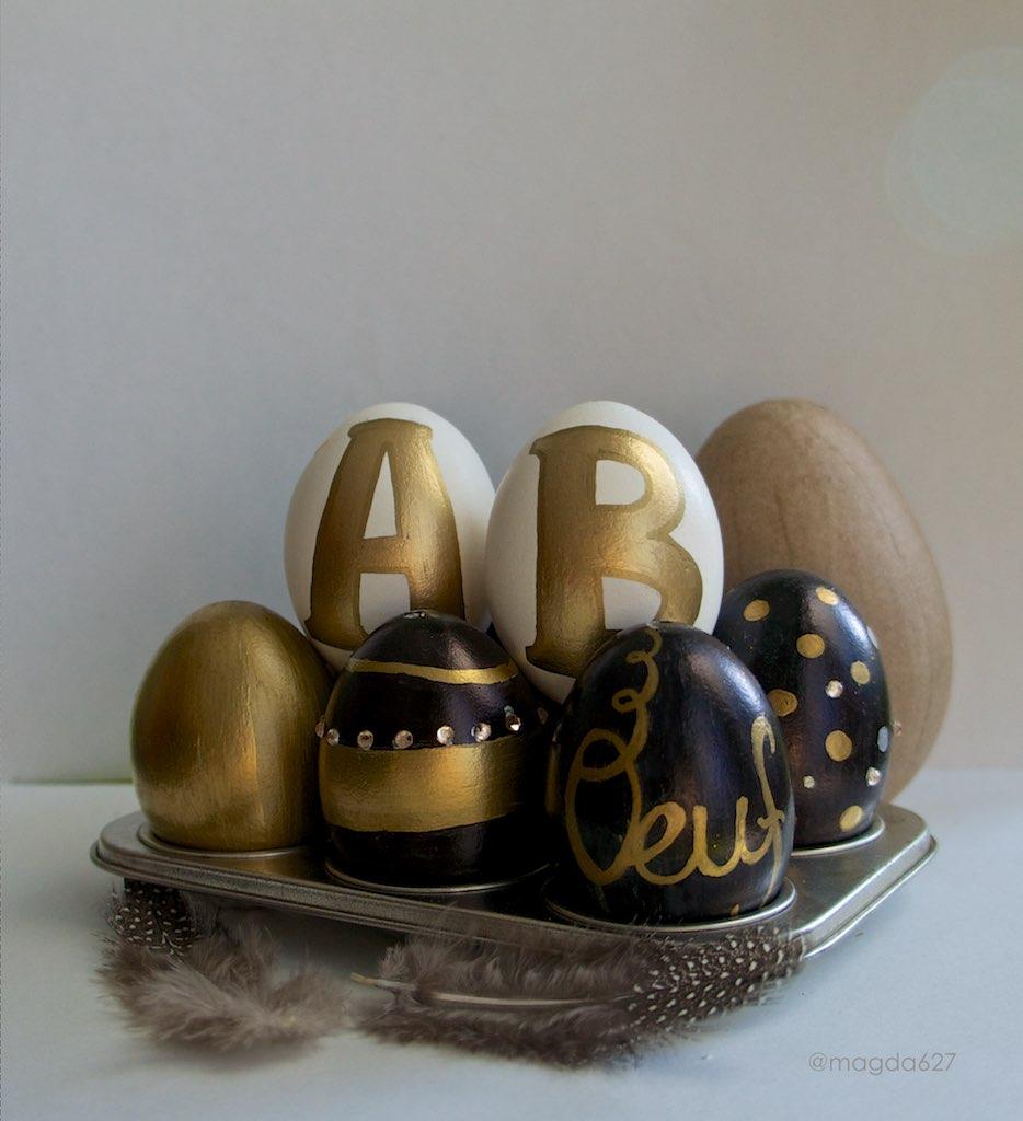 anteketborka.blogspot.com, pâques oeufs monogrammes