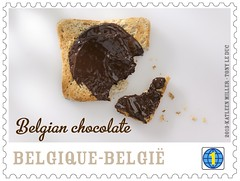07 Le chocolat belge Timbre 4