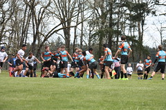 U15 Rugby Match in Yelm, WA.
