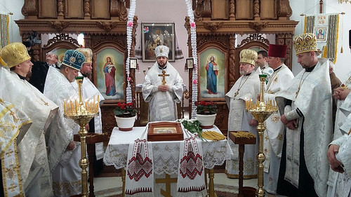 Архієпископ Іларіон освятив новозбудований храм