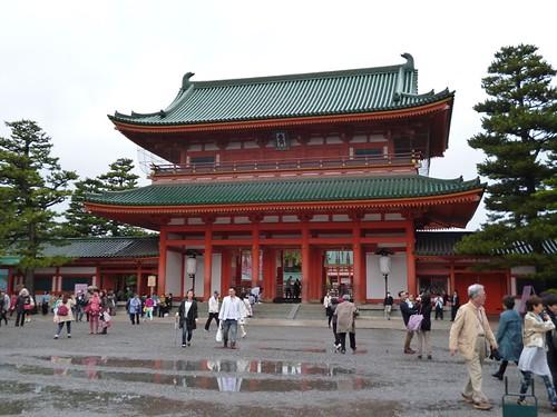 heinan jingu shrine