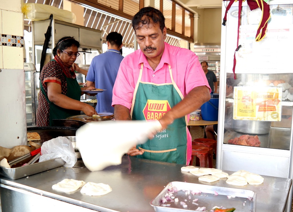 Mr and Mrs Mohgan's Super Crispy Roti Prata: Mr Mohgan
