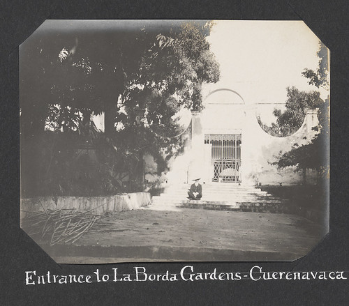 Entrance to La Borda Gardens - Cuerenavaca