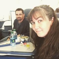 On the plane. Next stop JFK. <3