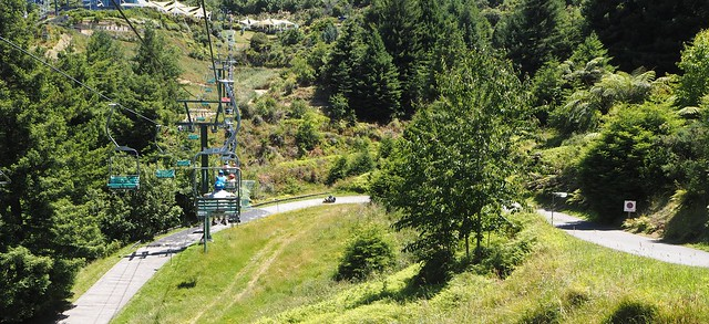 Chairlift Over The Luge