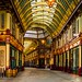 Leadenhall market on Sunday