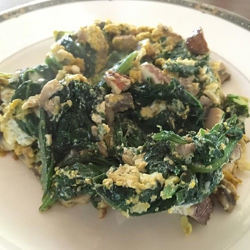 Easy low carb brunch meal. Cooked...