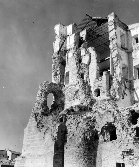 Alcázar de Toledo en 1952. Fotografía de Erika Groth-Schmachtenberger © Universitätsbibliothek Augsburg