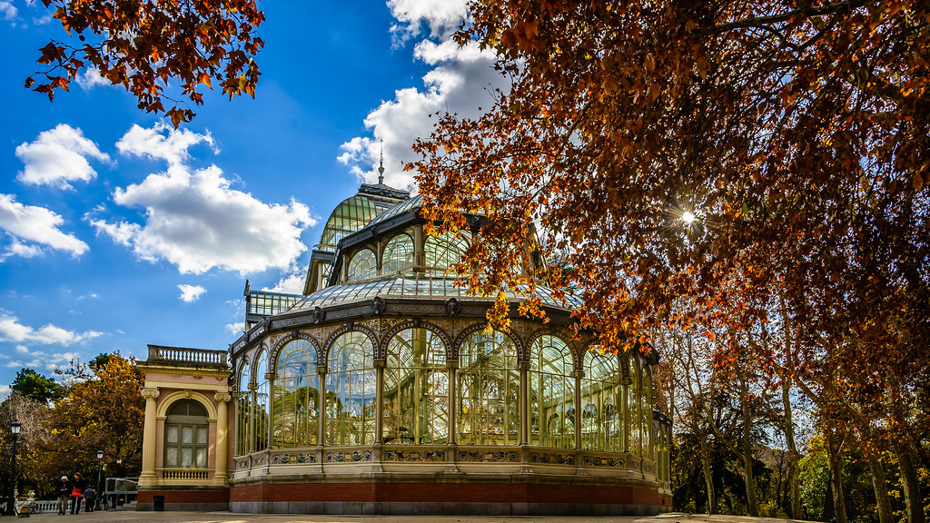 Colección Paseo al Retiro (XXVII), Palacio de Cristal