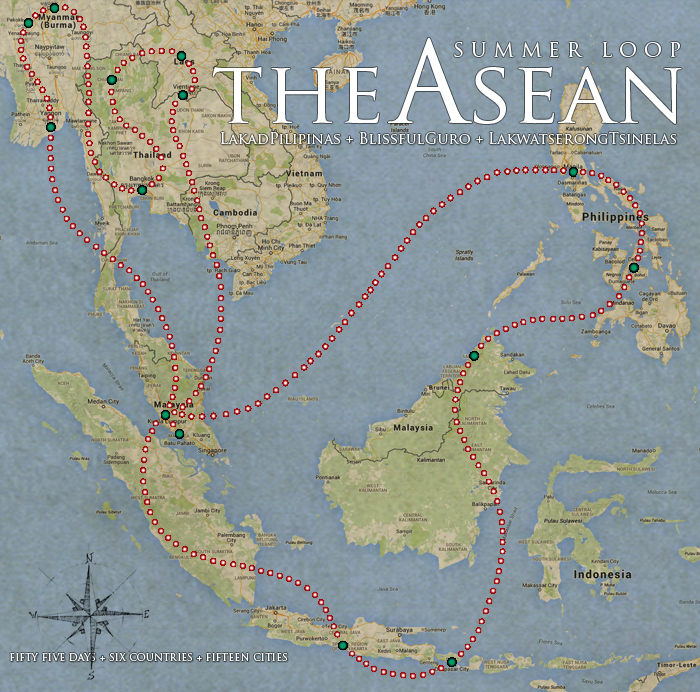 The Southeast Asia Summer Loop