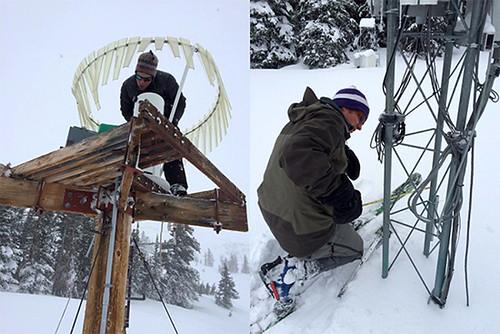 how to make a snow gauge