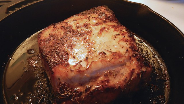 Rosemary Garlic Pork Loin 9