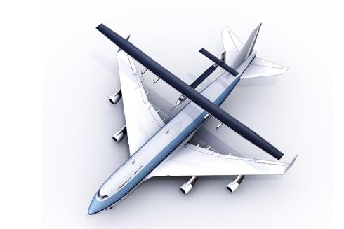 太陽脈衝2號的機翼長度,比波音747還長。圖片來源:SolarImpulse