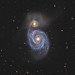 Whirlpool Galaxy by orions_belt58 (www.meadowlarkridgeobservatory.com)
