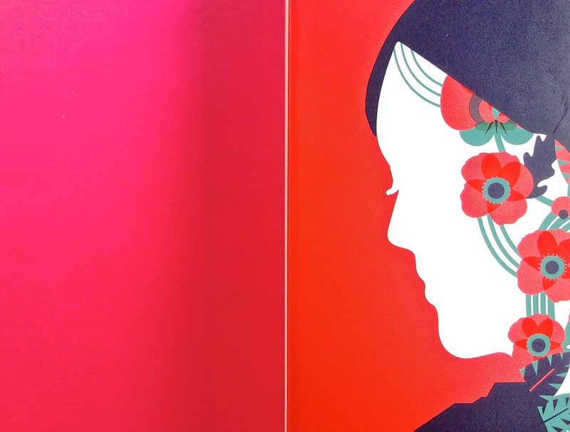 Gli anni, di Virginia Woolf. Feltrinelli 2015. Art dir.: Cristiano Guerri; alla cop.: ill. col. di Carlotta Cogliati. Copertina (part.), 3
