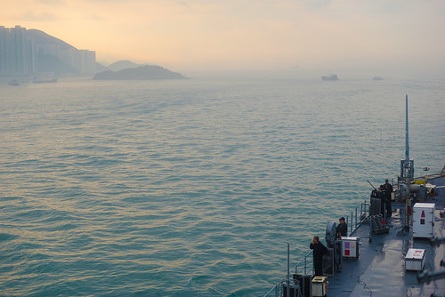USS Blue Ridge Arrives in Hong Kong