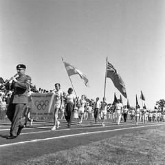 Olympiades 56 : Parc Kent. 15 août 1956, VM105-Y-3_0166-010