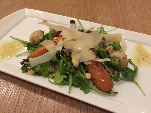 Roast vegetable salad - Laurel Court Restaurant