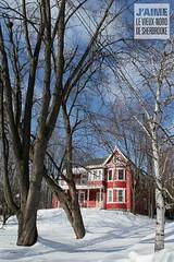 Maison de la rue Québec, Sherbrooke, Qc