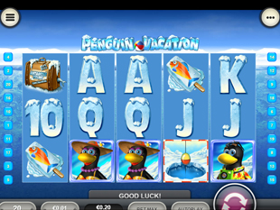 Penguin Vacation Mobile slot game online review