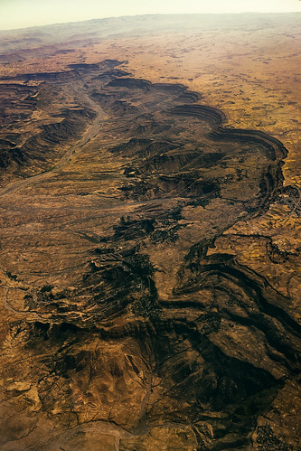 africa travel mars mountains landscape highlands rocky dry canyon aerial fromabove drought riverbed dried ethiopia canyons birdseyeview martian sonnartfe35mmf28za