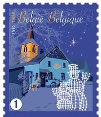 22a Noël timbre National