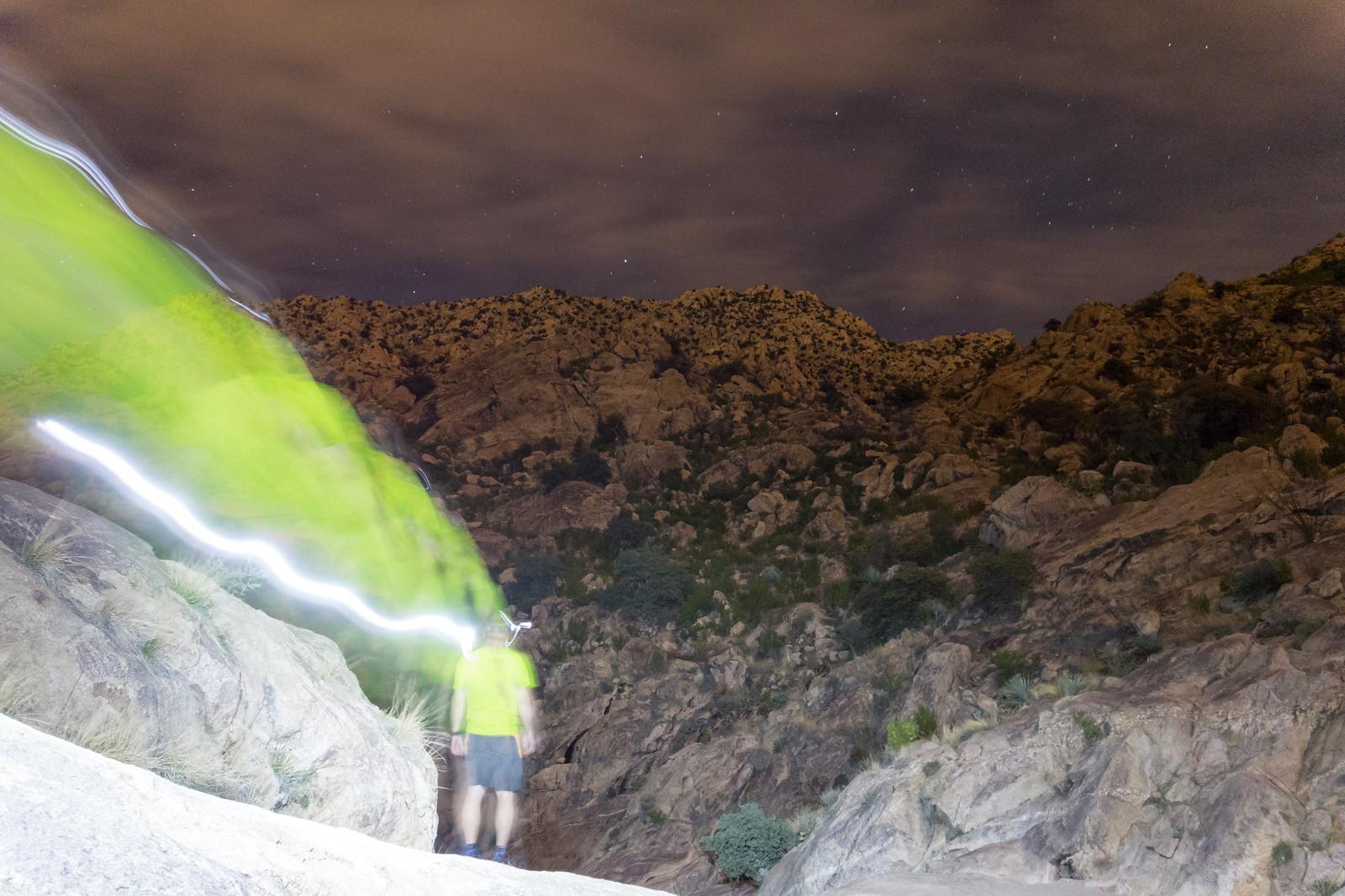 1503 Night Hike to Romero Pools