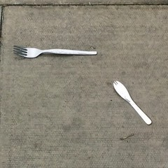 Forks in the path...the fork is strong...forking in the rain...'four candles'...what the fork...I could go on...