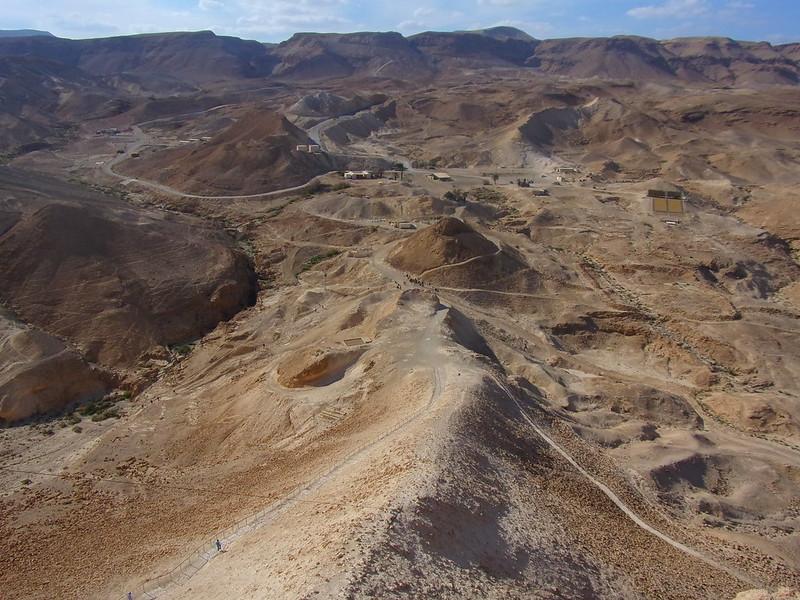 Roman siege ramp, Masada