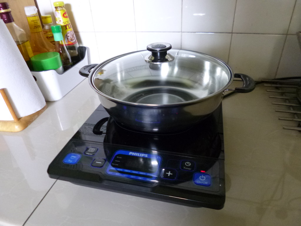 My new induction cooker