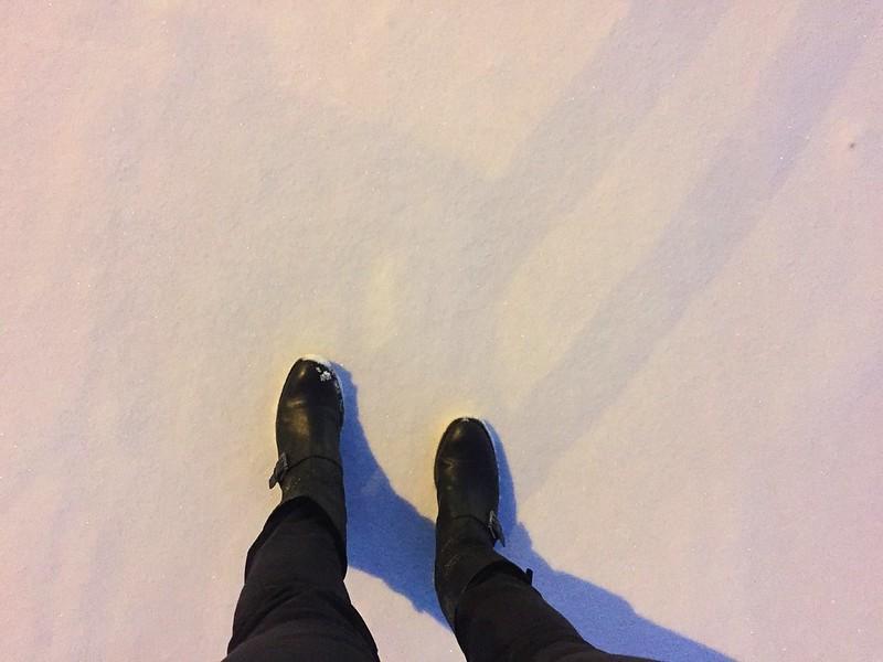 crispy snow