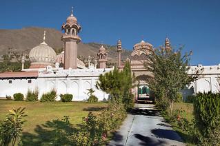 Royal mosque Chitral Pakistan