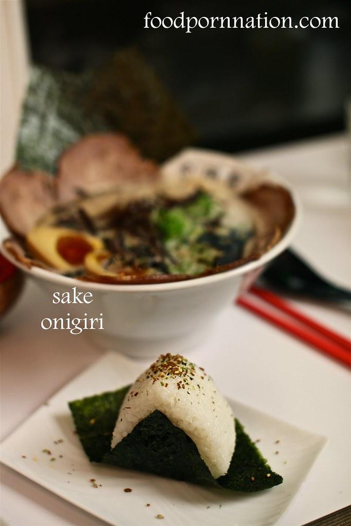 sake onigiri, Kanadaya, Tottenham Court Road