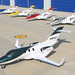 HondaJet Fleet with First Production Aircraft by Paredinha