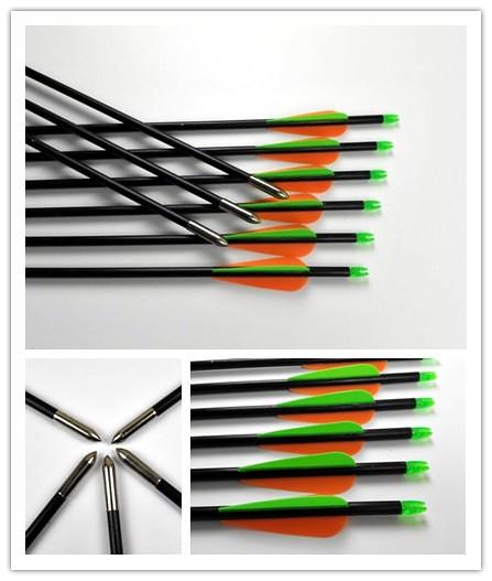 long bows fletched arrows