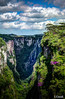 Cachoeira Itaimbezinho em Santa Catarina-SC Brasil