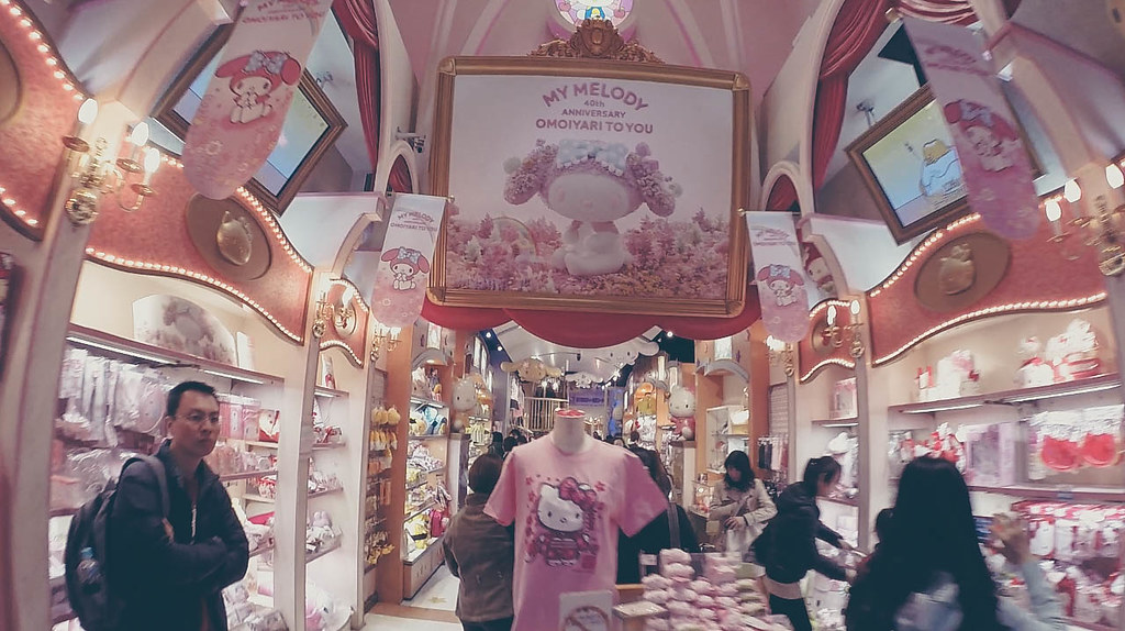 Hello Kitty Store at Namba