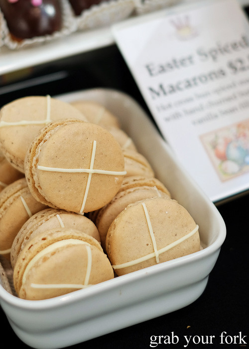 Easter spiced macarons by Creative Cooking at City Market, Wellington